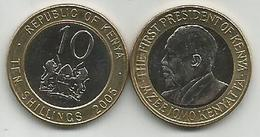 Kenya 10 Shillings 2005. High Grade - Kenya