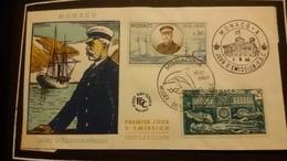 1°  Jour.d'émission..FDC ..MONACO .. 1960... Musée  Océanographique - Joint Issues