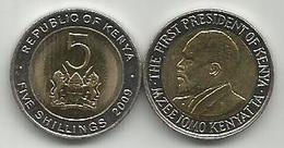 Kenya 5 Shillings 2009. High Grade - Kenya