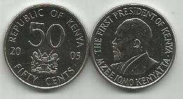 Kenya 50 Cents 2005. High Grade - Kenya