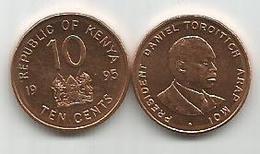 Kenya 10 Cents 1995. - Kenya