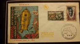 1°  Jour.d'émission..FDC ..MONACO .. 1962 ..  L'HOMME  SOUS  LA   MER - Joint Issues