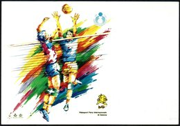 VOLLEYBALL - ITALIA GENOVA 1992 - WORLD LEAGUE - FINALE PALLAVOLO MASCHILE - NUOVA - Volleyball