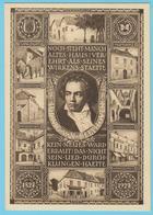 J.M. 24 - Entier Postal - Autriche - N° 7 - Compositeur - Beethoven - Papillon - Romantisme Musical - Musique