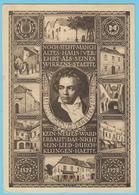 J.M. 24 - Entier Postal - Autriche - N° 8 - Compositeur - Beethoven - Papillon - Romantisme Musical - Musique