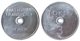 03947 GETTONE TOKEN JETON TRASPORTO TRANSIT NATIONAL TRANSPORT TOKEN 3 - Royaume-Uni