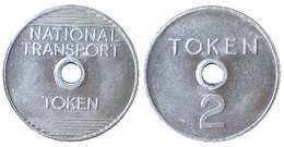 03948 GETTONE TOKEN JETON TRASPORTO TRANSIT NATIONAL TRANSPORT TOKEN 2 - Royaume-Uni