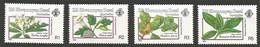 1990 Zil Elwannyen Sesel Poisonous Plants Set (** / MNH / UMM) - Toxic Plants