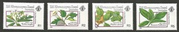 1990 Zil Elwannyen Sesel Poisonous Plants Set (** / MNH / UMM) - Piante Velenose