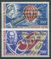 Niger 1970 Notlandung Des Raumschiffs Apollo 13, 255/56 Postfrisch - Niger (1960-...)