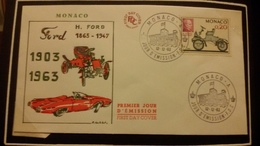 1°  Jour.d'émission..FDC ..MONACO .. 1963 ..   FORD  1093 / 1963 - Joint Issues