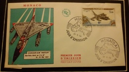 1°  Jour.d'émission..FDC ..MONACO .. 1964 ..   CONVAIR B. 58  HUSTLER - Joint Issues