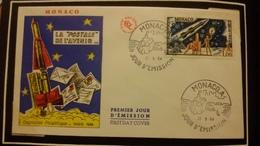 1°  Jour.d'émission..FDC ..MONACO .. 1964 ..   EXPOSITION  PHILATELIQUE  PARIS - Joint Issues