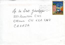 Estonia To Canada 2015 Cover 1.30Euros Painting - Estonie
