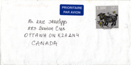 Estonia To Canada 2015 Cover 1.30Euros Year Of The Ram - Estonie