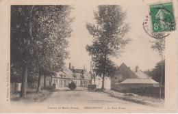 CPA Pierrepont (Canton De Marle) - Le Pont Blanc (avec Petite Animation) - Autres Communes