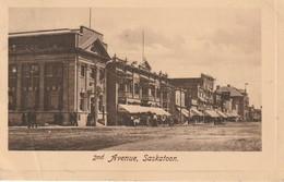 2nd Avenue, Saskatoon, Saskatchewan Crease In Bottom Left Corner - Saskatoon