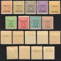 ITALIA - OCCUPAZIONE ANGLO-AMERICANA - SICILIA - EMISSIONE ANGLO-AMERICANA - MH - Occup. Anglo-americana: Sicilia