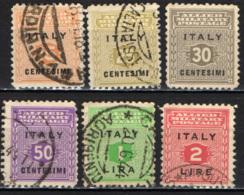 ITALIA - OCCUPAZIONE ANGLO-AMERICANA - SICILIA - EMISSIONE ANGLO-AMERICANA - USATI - Occup. Anglo-americana: Sicilia