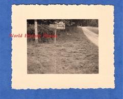 Photo Ancienne D'un Soldat Allemand - LA CHAISE / VERNONVILLIERS ( Aube ) - Route D102 - 1940 - WW2 Arsonval Eclance - Guerre, Militaire
