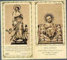 °°° Calendario Religioso 1933 °°° - Formato Piccolo : 1921-40