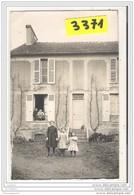 7637 AK PC CARTE PHOTO 3371 DEMEURE PERRON ENFANTS A IDENTIFIER EDIT. G.BLANC - Cartoline