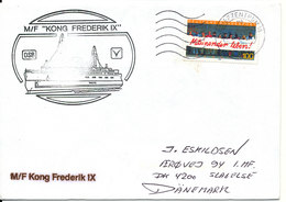 Germany Ship Cover M/F Kong Frederik Sent To Denmark 9-6-1997 - [7] Federal Republic