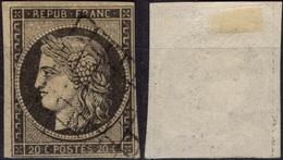FRANCE   3 (o) Type Cérès 1849 Teinte Plus Grisâtre - 1849-1850 Ceres