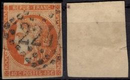 FRANCE   5 (o) Type Cérès 1850 (CV 500 €) - 1849-1850 Ceres