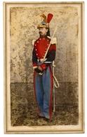 Soldat, Militaire à Identifier, CDV Réhaussée - Photographs