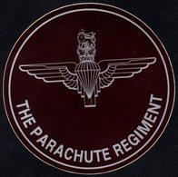 FRANCE - AUTOCOLLANT / STICKER - DEBARQUEMENT EN NORMANDIE - THE PARACHUTE REGIMENT - Adesivi
