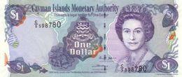 CAYMAN ISLANDS 1 DOLLAR 2006 P-33b UNC PREFIX C/5 [KY213a] - Iles Cayman