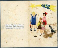 °°° Calendario 1952 °°° - Formato Piccolo : 1941-60