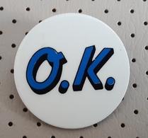 O.K. Slovenia Pin Badge - Pin's