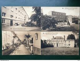 Neufvilles /-Etablissement Des Soeurs De Charité-4 Cpa-1928 - Soignies