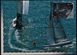 A1252 NEW ZEALAND 2003, SG 2539  $1.5 America's Cup.yachting, First Day Card - Covers & Documents