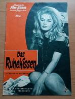 """Brigitte Bardot Im Roger-Vadim-Film """"Das Ruhekissen"""" Mit Robert Hossein ... Altes IFB-Filmprogramm /a107 - Magazines"""