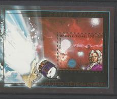 Guinée  COSMOS  YT** MNH  BF 82 Comète De Halley Nébuleuse Tête De Cheval - Space