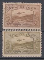New Guinea 1939 Airmail 4d + 6d Used - Papua New Guinea