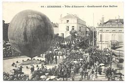 AUXERRE - Fête D'Auxerre, Gonflement D'un Ballon - Auxerre