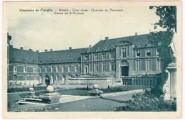 CPA - Floreffe - Séminaire De Floreffe -Entrée - Cour Verte - Quartier Du Proviseur - Statue De St-Norbert - Floreffe
