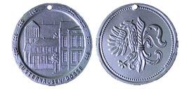 02980 GETTONE TOKEN JETON MUNICIPAL LOCAL WUSTERHAUSEN DOSSE PLASTIC - Allemagne