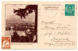 1938 Bled Slovenia Jugoslavia  Yugoslavia Used Postcard Ilustrovana Koriscena Dopisnica - Slovenia