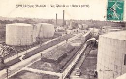 33 SAINT LOUBES / CAVERNES / VUE DE L'USINE A PETROL - France