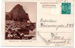 1938 Triglavsko Jezero Slovenia Jugoslavia  Yugoslavia Illustrated Used Postcard Ilustrovana Koriscena Dopisnica - Slovenia