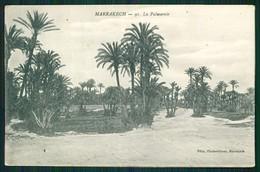 A1 MAROC MAROKKO MOROCCO MARRUECOS  CPA MARRAKECH - LA PALMERAIE - Marrakech