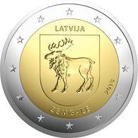 "LETONIA  2€ 2.018  2018  Bimetálica ""ZEMGALE""  SC/UNC DL-12.269 - Letonia"