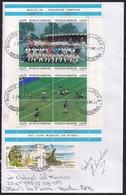 Argentina - 1992- Lettre - Coupe Du Monde De Football '86 - Argentine Campeon - Briefe U. Dokumente