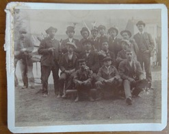 PHOTOGRAPHIE GROUPE DE CONSCRITS - Guerre, Militaire