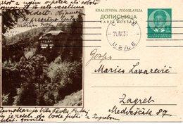 1938 YUGOSLAVIA, SLOVENIA, DOM NA POHORJU, POSTAL STATIONERY USED - Slovenia